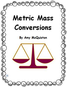 Metric Mass Conversions