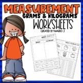 Metric Mass-- Grams and Kilograms Worksheets