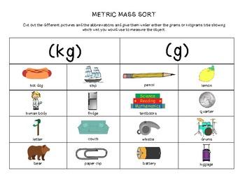 Metric Mass Sort