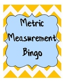 Metric Measurement Bingo