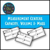 Metric Measurement Centers Volume, Capacity and Mass