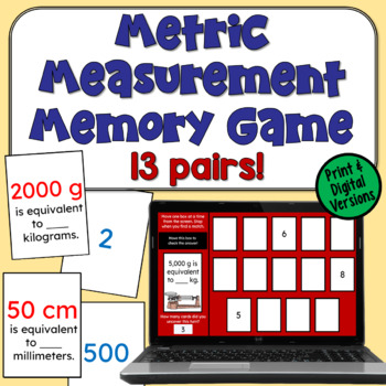 Metric Measurement Concentration: A Memory Game