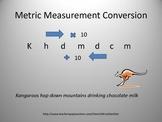 Metric Measurement Conversions