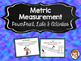 Metric Measurement & Conversions - Growing Bundle