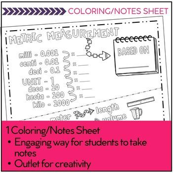 Metric Measurement Conversions Task Cards - Footloose Math Game