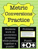 Metric Measurement: Conversions Practice Puzzle