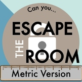 Metric Measurement Escape Room