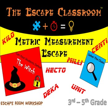 Metric Measurement Escape Room   The Escape Classroom
