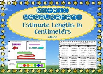 Metric Measurement: Estimate Lengths in Centimeters - GO MATH! Chapter 9