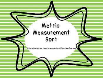 Metric Measurement - Estimating with Grams and Kilograms