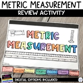 Metric Measurement Flip Book Review Activity for Mass Leng