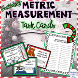 Metric Measurement Holiday Task Card Review Activity