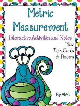 Metric Measurement Interactive Activities