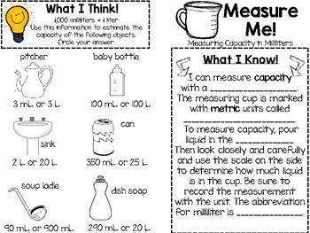 Metric Measurement Marvels: Measuring Weight, Length, Capacity