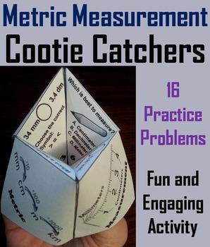 Metric Measurement Practice/ Metric Measurement Game 4th 5