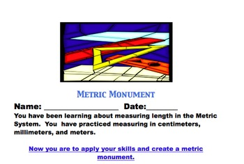 Metric Measurement Project for Assessment