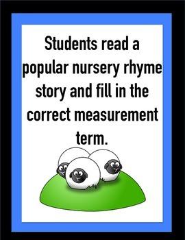 Metric Measurement Rhymes