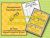 Metric Measurement Scavenger Hunt