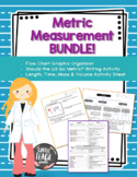 Metric Measurement Science Bundle - Activities and Graphic Organizer