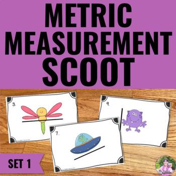 Metric Measurement Task Cards