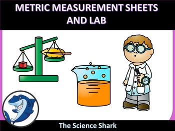 Metric Measurement Sheets/ Lab