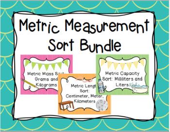 Metric Measurement Sort Bundle