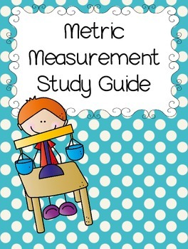 Metric Measurement Study Guide