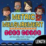Metric Measurement Task Cards {LENGTH}