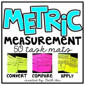 Metric Measurement Task Mats