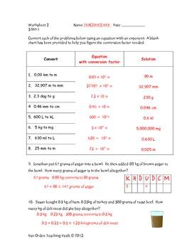 Metric Measurement Unit Common Core 5.MD.1 and 5.NBT.2