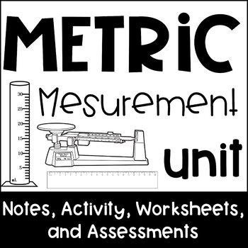 Metric Measurement Unit: Activity, Notes, Practice & Test