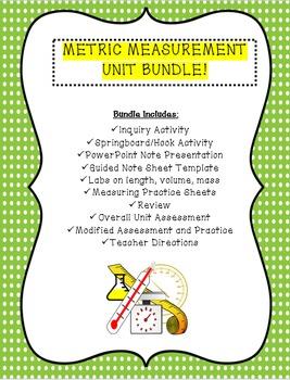 Metric Measurement Unit Bundle