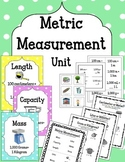 Metric Measurement Unit. Sorting. Flip Flap Book. Flashcards. Interactive Center