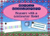 Metric Measurement: Using Centimeter Model - GO MATH! Chapter 9
