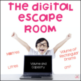 Metric Measurement Volume and Capacity Digital Escape Room for Distance Learning