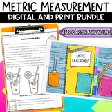 Metric Measurement Worksheets Flipbook and Review Games BUNDLE