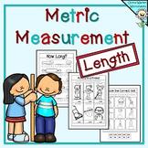 Metric Measurement Worksheets - Length Kindergarten, Grade One, Grade Two