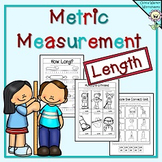 Metric Measurement Worksheets - Length Kindergarten, Grade One, Grade Two