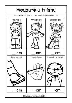 metric measurement worksheets length kindergarten grade one grade two. Black Bedroom Furniture Sets. Home Design Ideas
