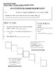 Scientific (Metric) Measurements Guided Notes & Answer Key