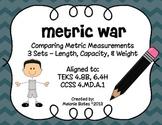 Metric Measurements War - length, capacity, and mass