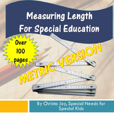 Metric Measuring Length Unit for Special Education