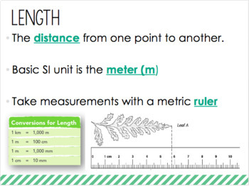 Scientific Measurement Powerpoint
