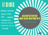 Scientific Measurement Powerpoint