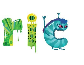 Metric Monsters Bulletin Board Title
