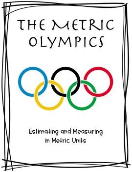 Metric Olympics - Color, B/W, Fillable PDF