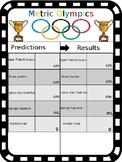 Metric Olympics Worksheet