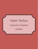 Metric Prefixes Foldable