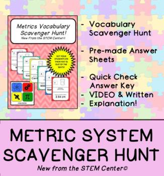 Metric Scavenger Hunt