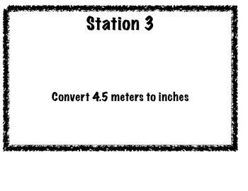 Metric/Standard Scavenger Hunt Activity (conversions)